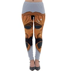Mask India South Culture Lightweight Velour Leggings
