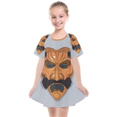Mask India South Culture Kids  Smock Dress