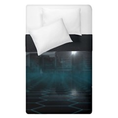 Skyline Night Star Sky Moon Sickle Duvet Cover Double Side (single Size)