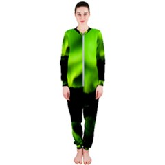 Aurora Borealis Northern Lights Sky Onepiece Jumpsuit (ladies)  by Samandel