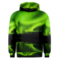 Aurora Borealis Northern Lights Sky Men s Overhead Hoodie