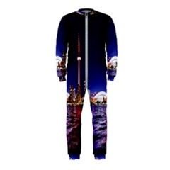 Toronto City Cn Tower Skydome Onepiece Jumpsuit (kids) by Samandel