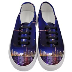 Toronto City Cn Tower Skydome Women s Classic Low Top Sneakers