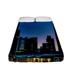 Frankfurt Germany Panorama City Fitted Sheet (full/ Double Size)