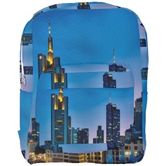 Frankfurt Germany Panorama City Full Print Backpack