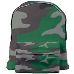 Army Green Camouflage Giant Full Print Backpack