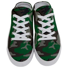 Army Green Camouflage Half Slippers by Samandel