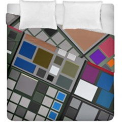 Abstract Composition Duvet Cover Double Side (king Size)