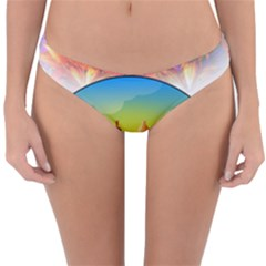 African American Women Reversible Hipster Bikini Bottoms by AlteredStates