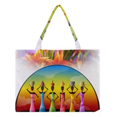 African American Women Medium Tote Bag by AlteredStates