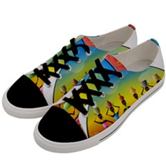 African American Women Men s Low Top Canvas Sneakers by AlteredStates