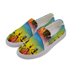 African American Women Women s Canvas Slip Ons by AlteredStates