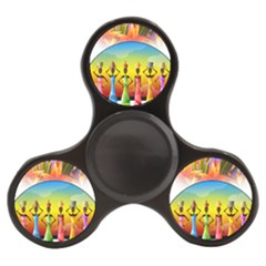 African American Women Finger Spinner by AlteredStates