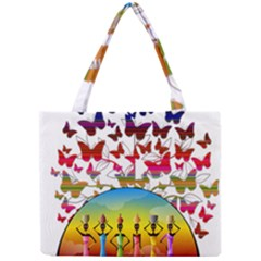African Americn Art African American Women Mini Tote Bag by AlteredStates