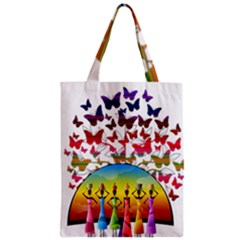 African Americn Art African American Women Zipper Classic Tote Bag by AlteredStates
