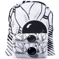 Bowling Ball Sport Giant Full Print Backpack