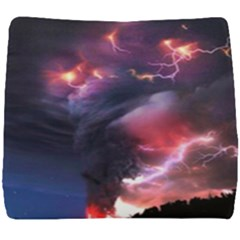 Volcano Lightning Wallpapers Flash Strom Seat Cushion