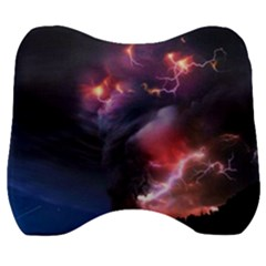 Volcano Lightning Wallpapers Flash Strom Velour Head Support Cushion