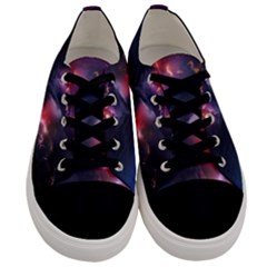 Volcano Lightning Wallpapers Flash Strom Men s Low Top Canvas Sneakers