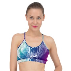 Bear Grizzly Wallpaper Basic Training Sports Bra