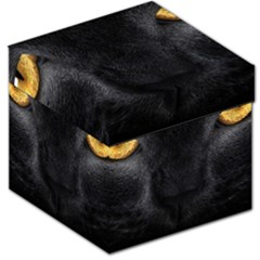Face Black Eye Cat Storage Stool 12   by AnjaniArt
