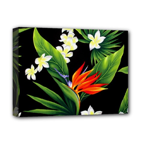 Frangipani Flower Deluxe Canvas 16  X 12  (stretched)