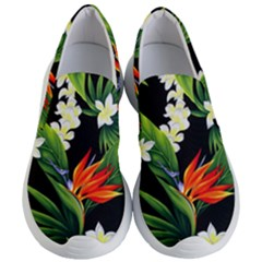 Frangipani Flower Women s Lightweight Slip Ons by AnjaniArt