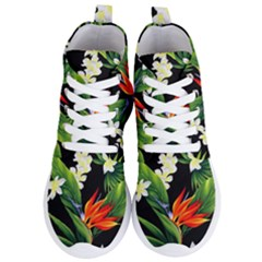 Frangipani Flower Women s Lightweight High Top Sneakers by AnjaniArt