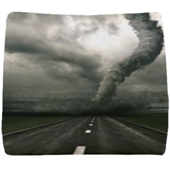Hurricane Seat Cushion by AnjaniArt