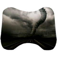Hurricane Head Support Cushion by AnjaniArt