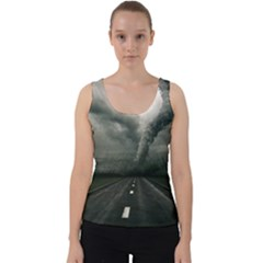 Hurricane Velvet Tank Top