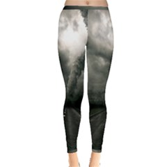 Hurricane Inside Out Leggings by AnjaniArt