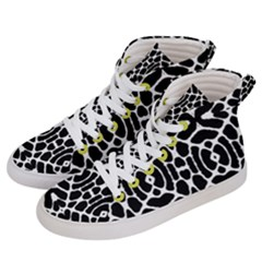 Brisbane O Men s Hi Top Skate Sneakers by mobla
