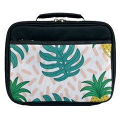 Green Leaf Fruite Pineapples Lunch Bag by AnjaniArt