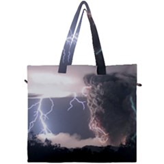 Lighting Flash Fire Wallpapers Canvas Travel Bag by AnjaniArt