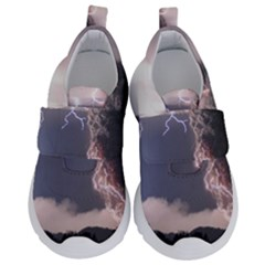 Lighting Flash Fire Wallpapers Velcro Strap Shoes