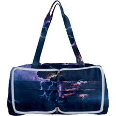 Lightning Volcano Manipulation Volcanic Eruption Multi Function Bag	 by AnjaniArt