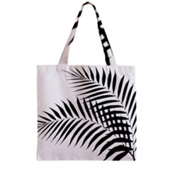 Palm Leaves Grocery Tote Bag by AnjaniArt