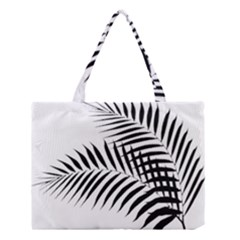 Palm Leaves Medium Tote Bag by AnjaniArt