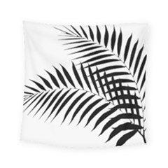 Palm Leaves Square Tapestry (small)