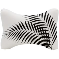 Palm Leaves Seat Head Rest Cushion by AnjaniArt