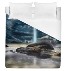 Space Galaxy Hole Duvet Cover (queen Size)