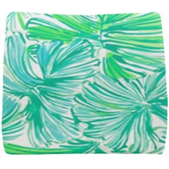 Painting Leafe Green Summer Seat Cushion