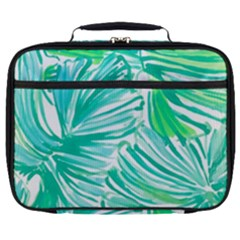 Painting Leafe Green Summer Full Print Lunch Bag by AnjaniArt