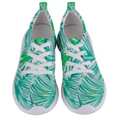 Painting Leafe Green Summer Women s Lightweight Sports Shoes