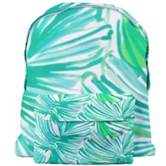 Painting Leafe Green Summer Giant Full Print Backpack by AnjaniArt