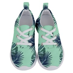 Tropical Leaves Green Leaf Running Shoes