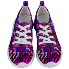 Pink Celtic Knot Square Women s Lightweight Sports Shoes