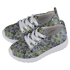 White Mums Kids  Lightweight Sports Shoes by bloomingvinedesign