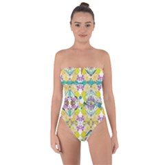 Chateau Jardin  Tie Back One Piece Swimsuit by plaides